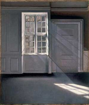 'Dust Motes 																		Dancing in the Sunbeams', Vilhelm Hammersh�i