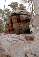 Death Rock, Kanyacka Homestead